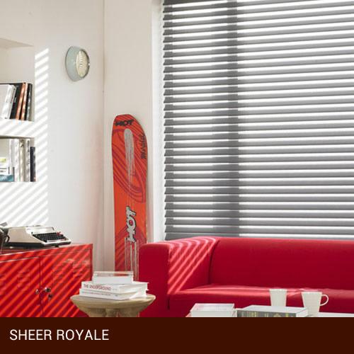 Persianas Sheer Royale