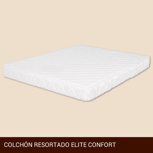 Colchón Resortado Elite Confort